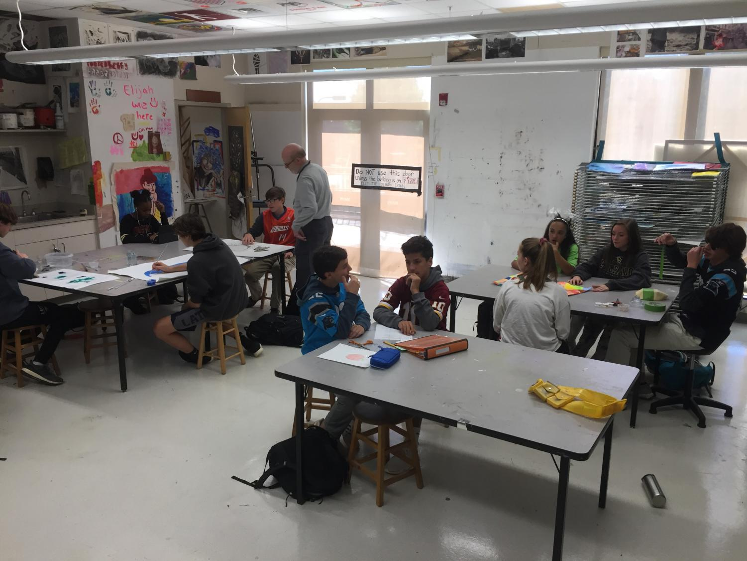 A Chance for Everyone in Charlotte Latin's Art Program
