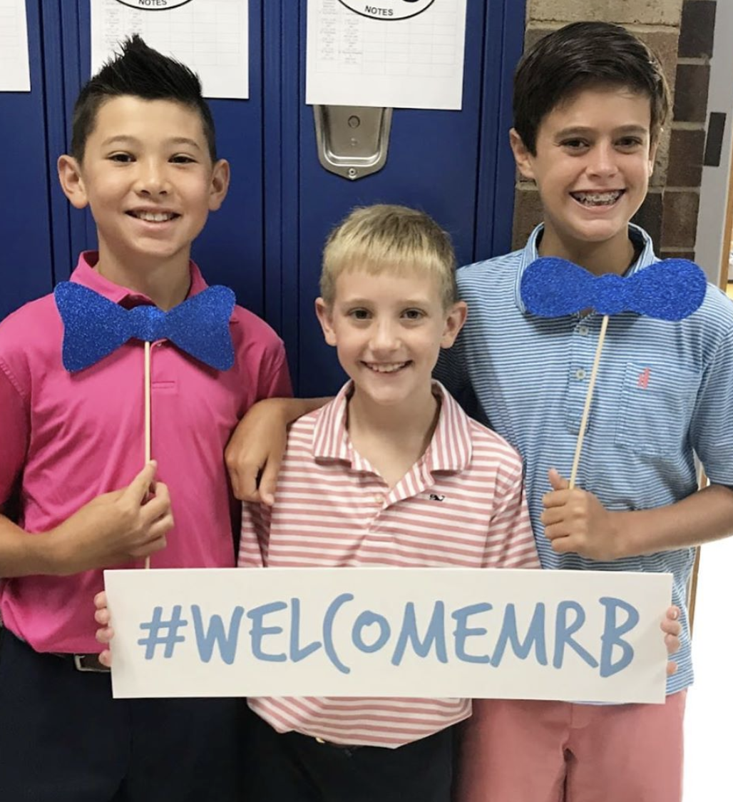 Middle School students welcome
